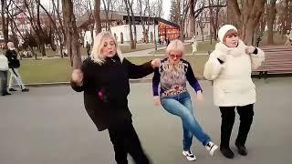 Ой,смереко!!!Танцы в саду Шевченко,апрель 2021.