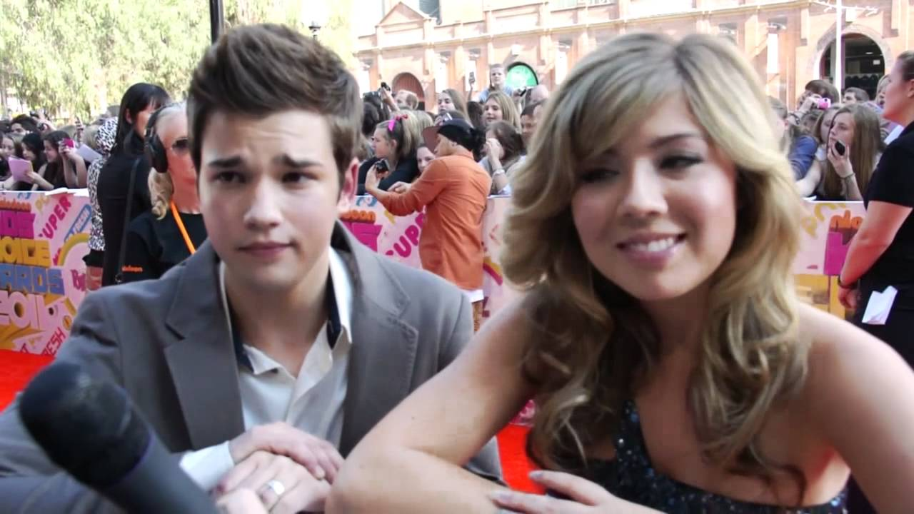 Jennette Mccurdy And Nathan Kress: Stars Of ICarly Nathan Kress & Jennette McCurdy At The