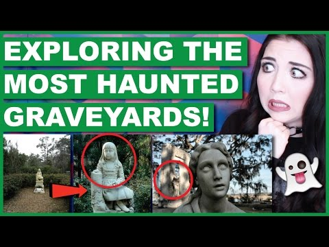 Exploring The Most Haunted Graveyards In The World | Google Street View