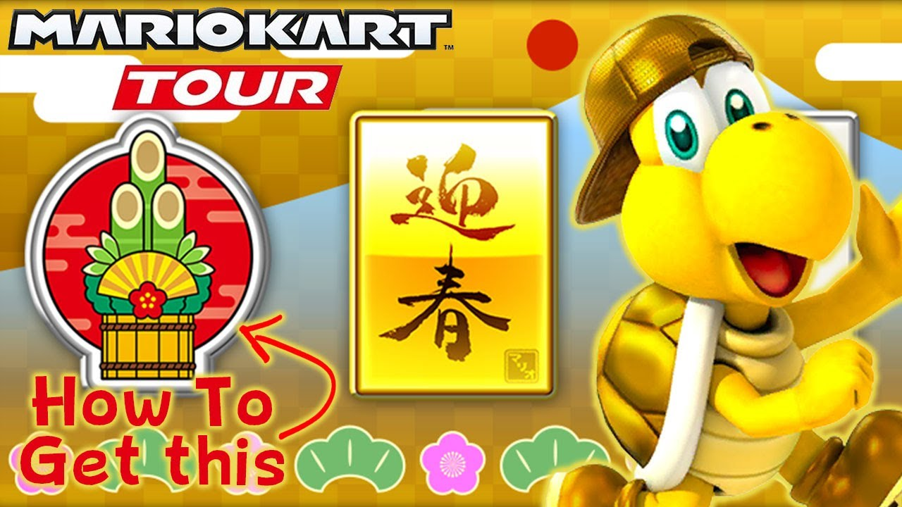 Tour Challenges Hit A Kadomatsu With An Item 3 Times In A Single Race 5 Times Mario Kart Tour