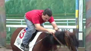 "Jockey Lessons with Frankie Lovato ""Whip Switching"""