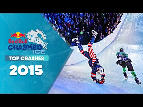 Top Crashes from Red Bull Crashed Ice 2015