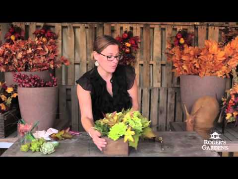 Fall Floral Arranging with Kristen Silka