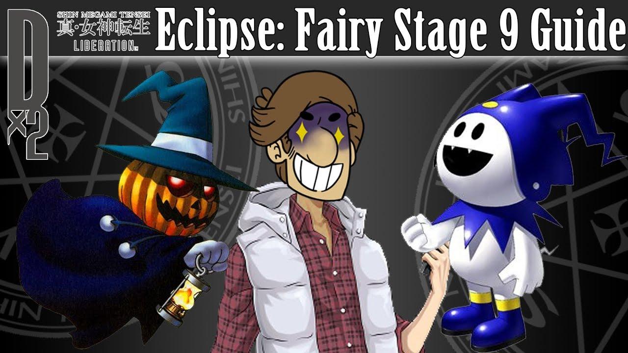 Shin Megami Tensei Liberation Dx2 - Eclipse: Fairy Stage 9 Guide & Team  Options