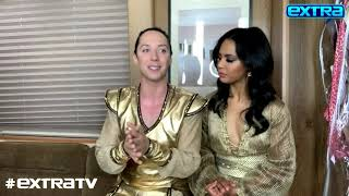 Johnny Weir Reveals How Christina Aguilera Inspired His Figure Skating Career