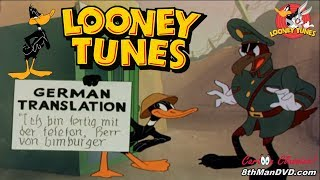 LOONEY TUNES Looney Toons DAFFY DUCK - Daffy The Commando 1943 Remastered HD 1080p