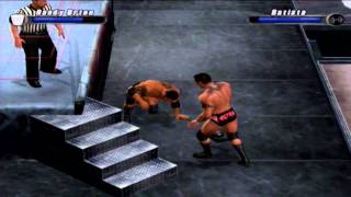 Randy Orton vs Batista (Hardcore) - WWE Smackdown vs Raw 2008 (PS2)