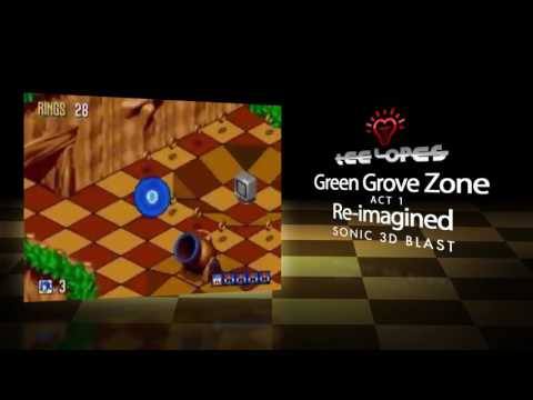 Tee Lopes - Green Grove Zone Re-imagined (Sonic 3D Blast)