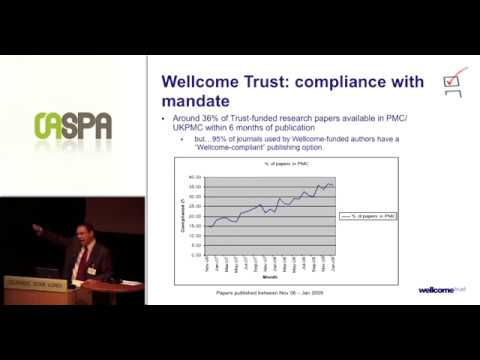Open Access and the Wellcome Trust