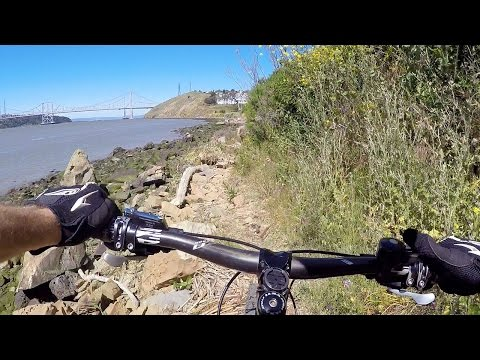 Mountain biking in Benicia and Vallejo