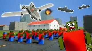 LEGO ZOMBIE ALIEN APOCALYPSE VS LEGO CITY! - Brick Rigs Gameplay Challenge - Lego City Survival