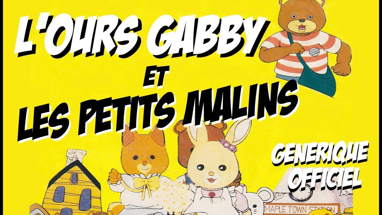 Danièle Hazan L Ours Gabby Et Les Petits Malins Générique Officiel Du Dessin Animé Avec Paroles