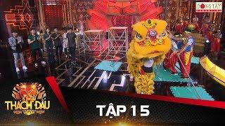Đội múa lân nắm giữ 5 kỉ lục Guiness khiến các nghệ sĩ hoảng hốt | Kỳ Tài Thách Đấu 2017 | Tập 15