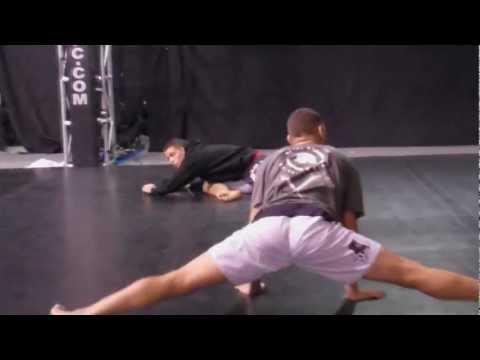 UFC 137: Nick Diaz vs. BJ Penn- Nick Diaz Media Work Out