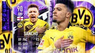FIFA 21 : JADON SANCHO Whatif 90 SQUAD BUILDER BATTLE endet TEUER 😱🔥