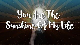You Are The Sunshine Of My Life | Stevie Wonder Karaoke  (Key of A)