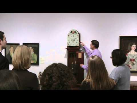 Gary R. Sullivan Antique Clock lecture at Christie's Auction House