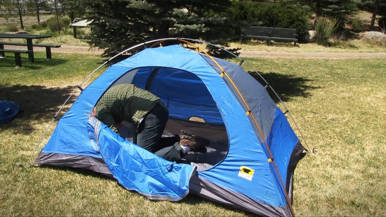 & Mountainsmith Celestial Tent - 2-Person 3-Season - YouTube