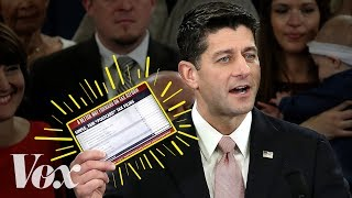 Why Republicans failed to fit taxes onto a postcard