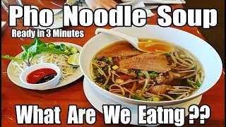 One, Two, Three, Phở !! - Vietnamese Noodle Soup in 3 Minutes - What Are We Eating?? - The Wolfe Pit