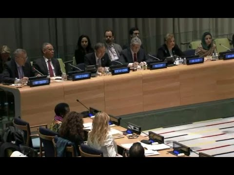 Sunny Trust International at the UN General Assembly, NY, Feb 10, 2016‏