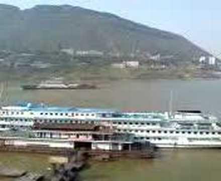 Fuling, 江城;China's Yangtze River,