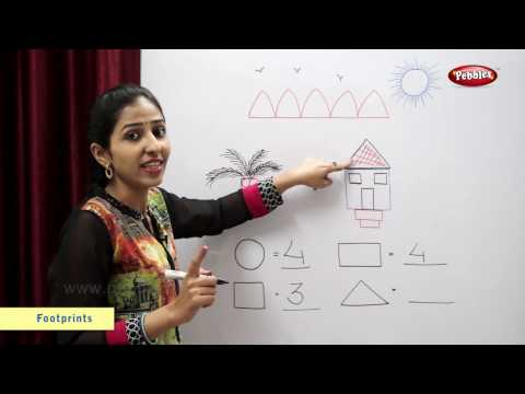 Count and Write the Shapes | Maths For Class 2 | Maths Basics For CBSE Children