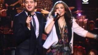 Thalia & Michael Buble - Feliz Navidad/Mis Deseos [LIVE]
