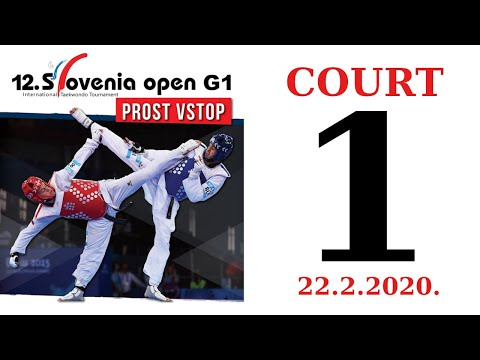 12th Slovenia Open G1 2020. - DAY 1 – COURT 1