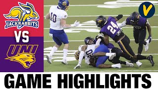 #5 South Dakota State vs #3 Northern Iowa Highlights | 2021 Spring FCS College Football Highlights