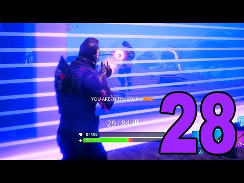 FLANKING THROUGH THE STORM! - Fortnite Battle Royale (Part 28)