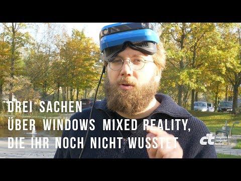 Drei Sachen über Windows Mixed Reality, die ihr noch nicht wusstet