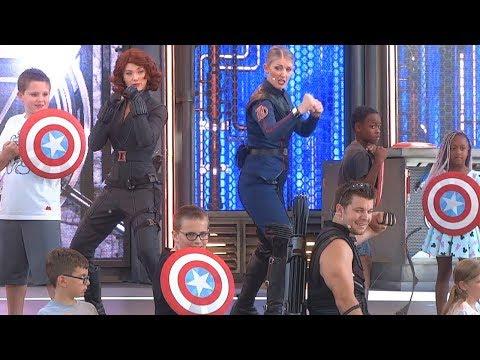 Avengers Training Initiative FULL SHOW at Disneyland
