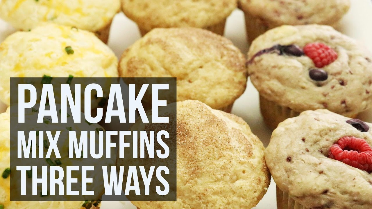 Pancake mix muffins three ways simple customizable muffin recipe pancake mix muffins three ways simple customizable muffin recipe by forkly ccuart Image collections