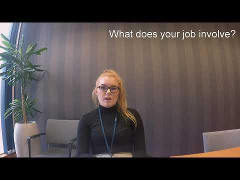 Aberdeenshire Council Modern Apprentice Emma Sanders