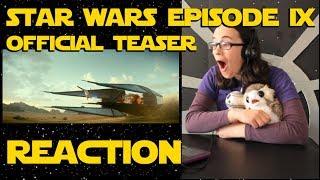 Star Wars Episode 9 Official Teaser Reaction