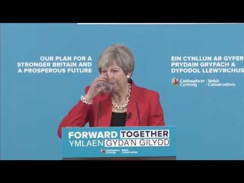 ✅ PM Theresa May Campaign Speech - Dementia Tax U-Turn 5/22/17**