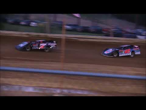 Steel Block Late Model Heat Race from Jackson County Speedway, April 27th, 2018.