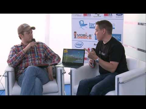 History of tablets & insights into tech blogging: Steve 'Chippy' Paine & Sascha Pallenberg