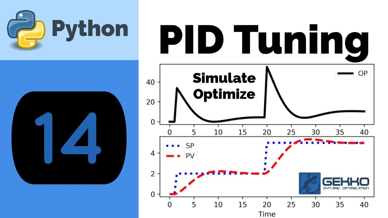 PID Control Tuning with Python GEKKO - YouTube
