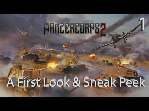 Panzer Corps 2 – A First Look – 1939 Campaign Gameplay – Part 1