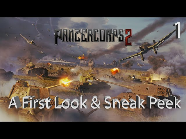Panzer Corps 2 (видео)