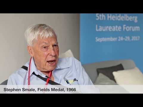 Laureate interviews at the 5th HLF: Stephen Smale
