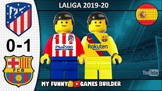 Atletico Madrid Vs Barcelona 0 1 • Laliga 2019/20 • Resumen 01/12 All Goal Highlights Lego Football