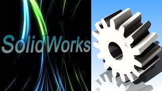 SolidWorks. Использование уравнений для быстрого моделирования. (Урок 9) / Уроки SolidWorks