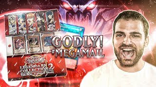 YuGiOh Legendary Collection Duel Academy Years | GOLDEN GOD CARDS!!? #MegaMail