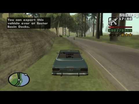 GTA San Andreas - Import/Export Vehicle #10 - Feltzer