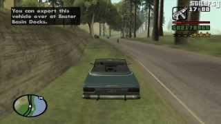 GTA San Andreas - Import/Export Vehicle #10 - Feltzer