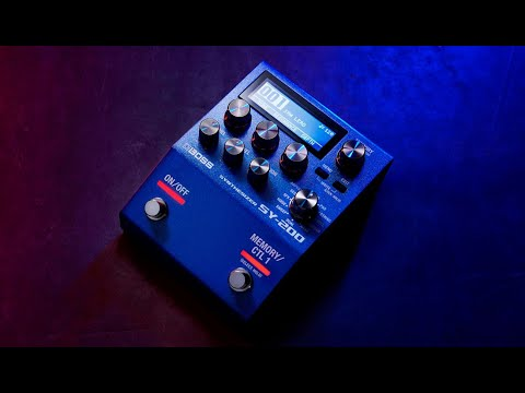 Download BOSS SY-200 Synthesizer Guitar Pedal Demo - Guitar & Bass Synth Pedal - 171 Analog-Style Tones