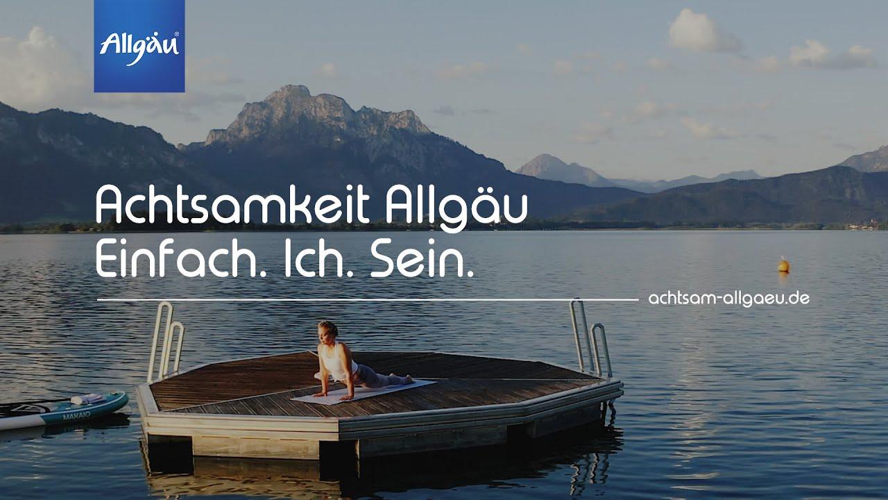 Natur. Harmonie. Du. Yoga im Allgäu; Achtsamkeit Allgäu - Auszeit in Bayern in den Allgäuer Alpen
